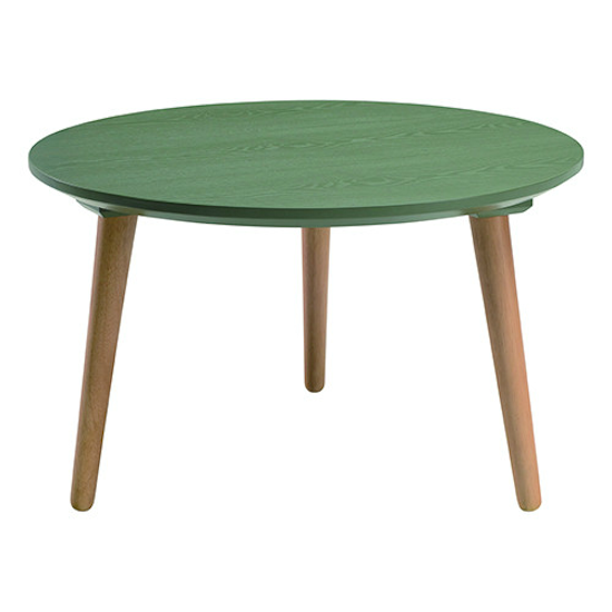 Carsyn Round Coffee Table Pickle